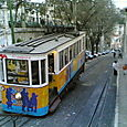 Famous trams in Lisbon