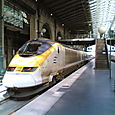 The Eurostar in Paris