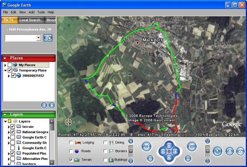 S60, Python, a GPS receiver, and Google Earth – WirelessMoves