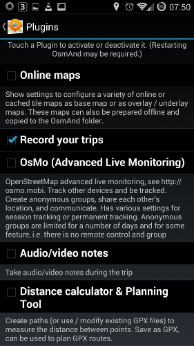 OpenStreetMap (for Android) Part 4: Recording A Route And