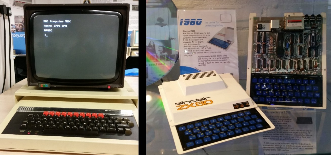 zx80 and the bbc micro