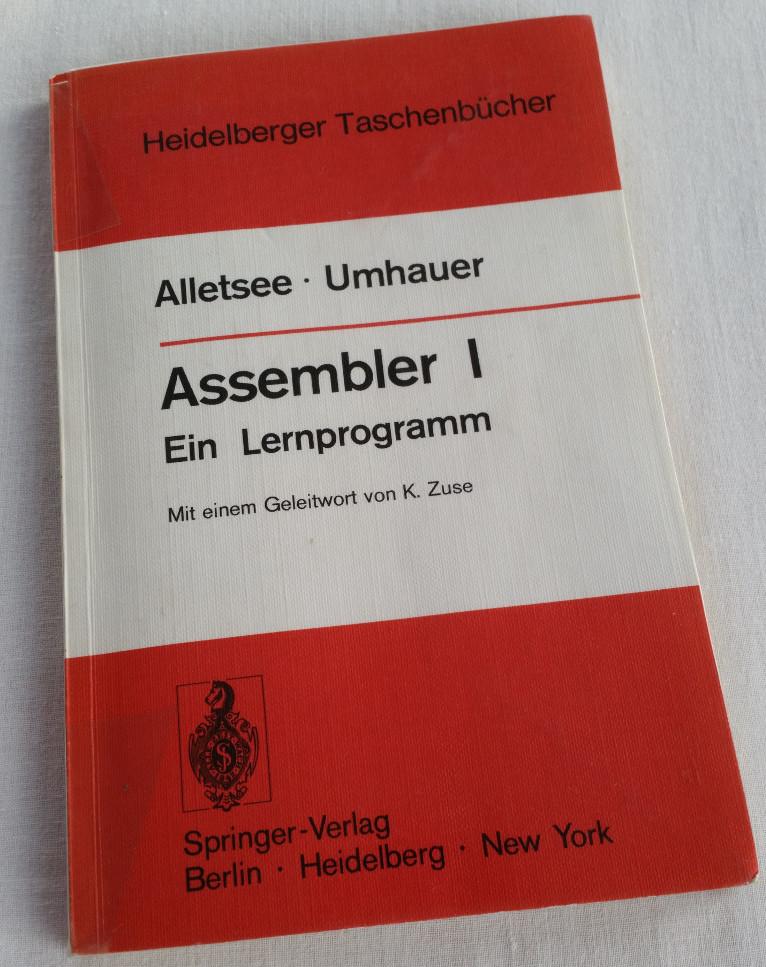Assembler 1 - front page