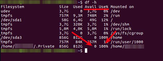 Full Disk Stats