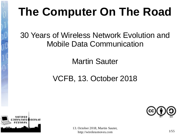 My Talk About Mobile History @ VCFB 2018