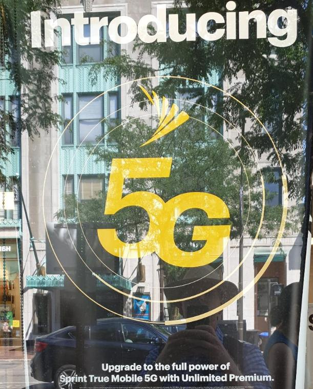 Image: Sprint 5G Advertisement