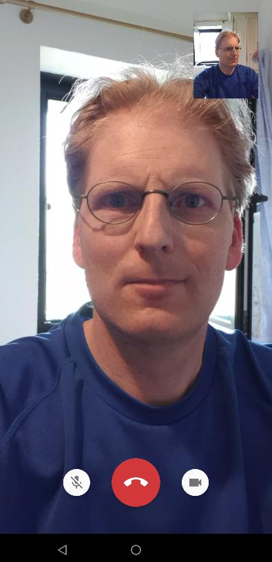 Me in a XMPP video call