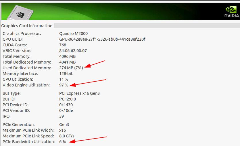 Image: H.264 encoding on the GPU
