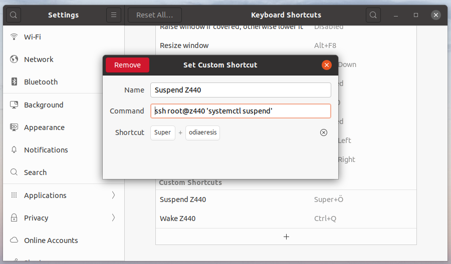 Image: Remote suspend/resume on keyboard shortcuts
